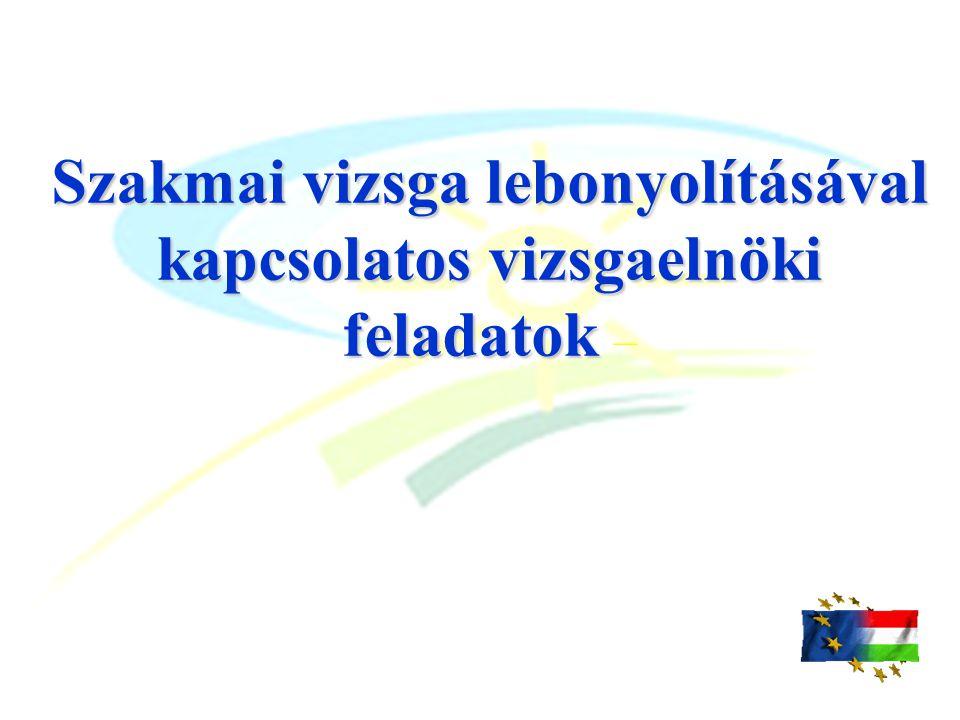 A vizsgabizottság működése A vizsgabizottság határozatait bizottsági értekezleten hozza meg.