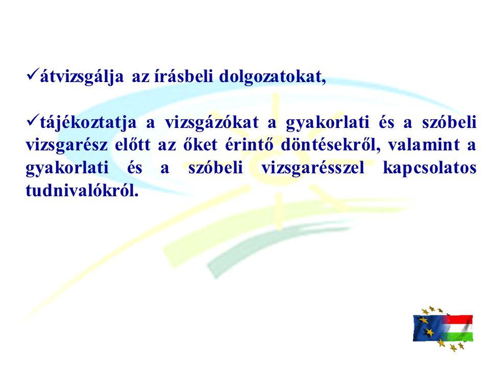 A vizsgadokumentumok letölthetők:  a www.kszi.hu honlapról,  a www.nive.hu honlapról,  valamint a CD is tartalmazza mindkettőt.