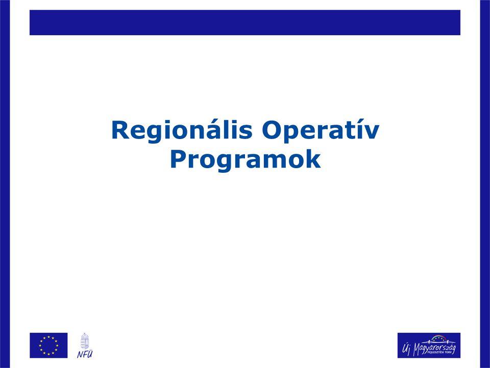 Regionális Operatív Programok