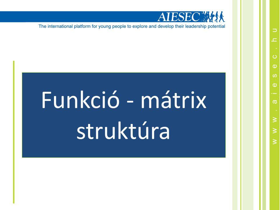 Funkció - mátrix struktúra