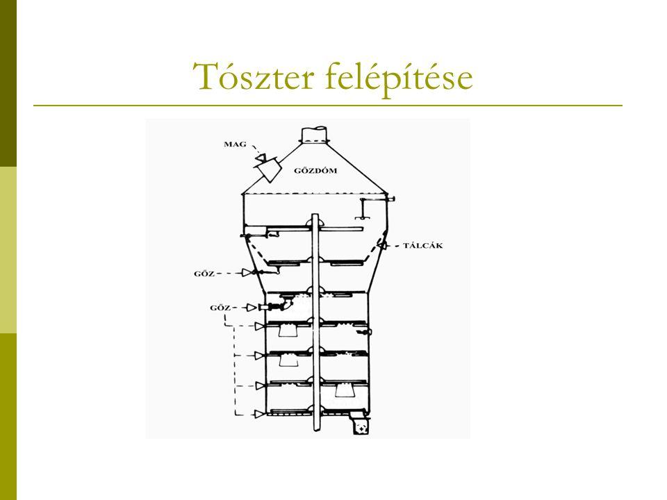 Tószter felépítése