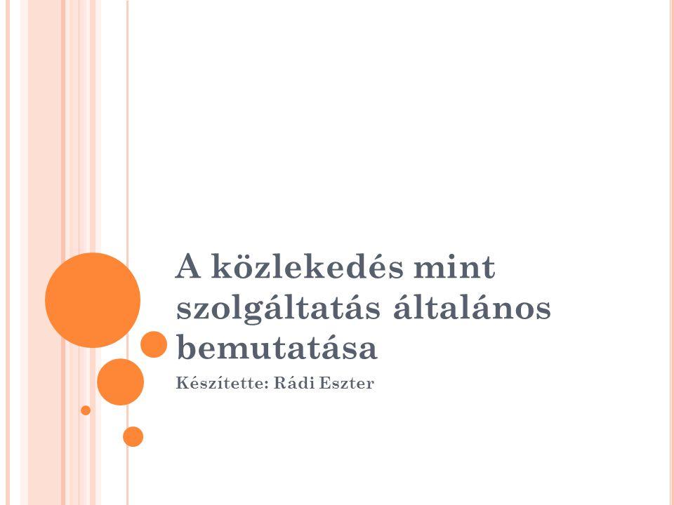 Hazai helyzet Budapesti Közlekedési Szövetség Célok elérése – kedvezőbb feltételek Egyéb fejlesztések regionális társulások