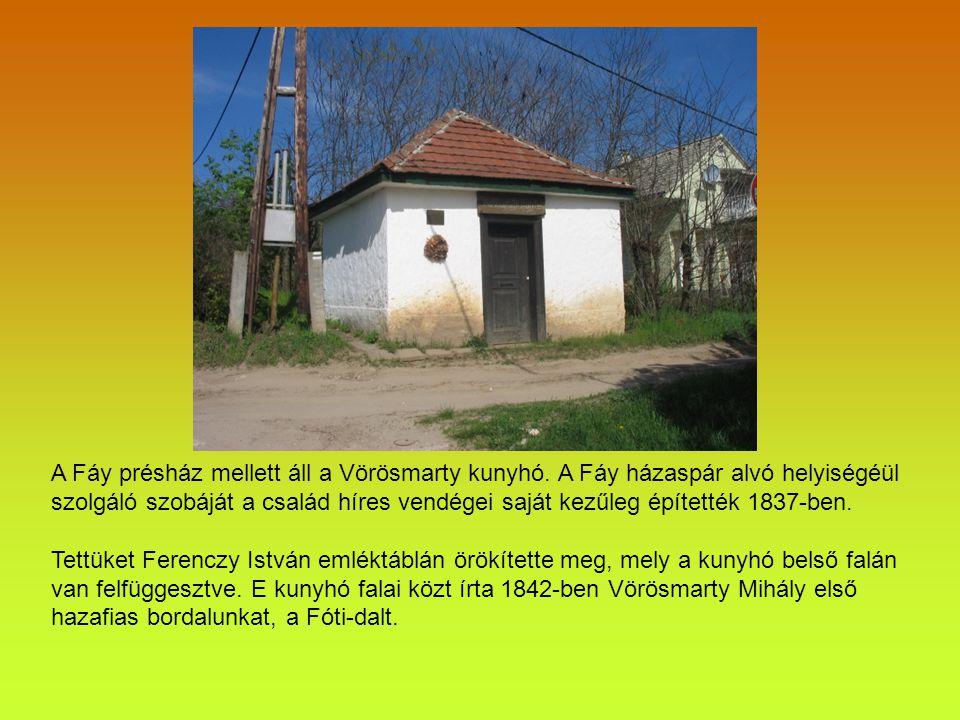 Fótról köztudott, hogy a reformkori magyar kultúra megszentelt helye, a híres fóti szüreteken a magyar értelmiség színe-java megjelent, akik itt napi politikai kérdésként tárgyalták a magyar közügyeket.