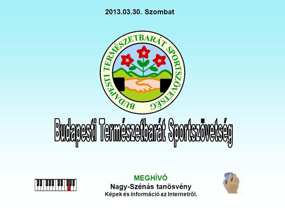 MEGHÍVÓ Nagy-Szénás tanösvény Képek és információ az Internetről. 2013.03.30. Szombat