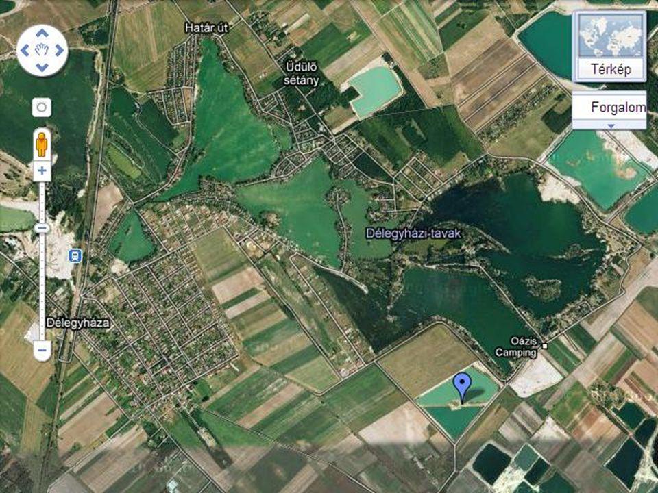 A Délegyházi tavak Budapestt ő l 30 kilométerre találhatók. Egykor k ő bányák üzemeltek e helyt. A bánya- tavakat biztonságosan kiépítették, fürdésre,