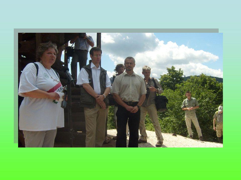 A parkerdőket rendszeresen látogató turisták képviseletében Dr.