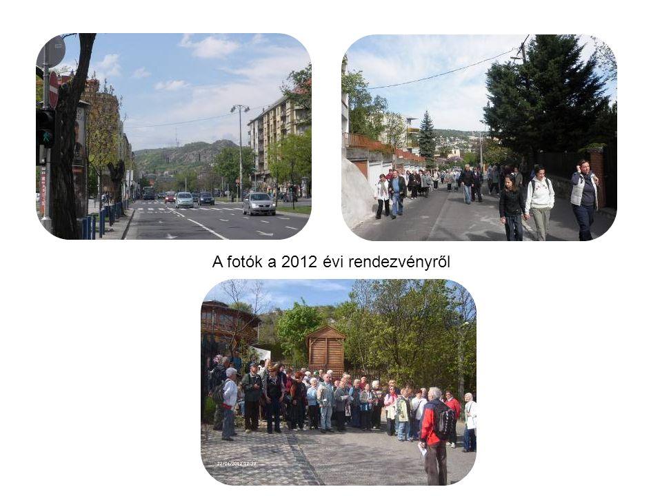 A fotók a 2012 évi rendezvényről