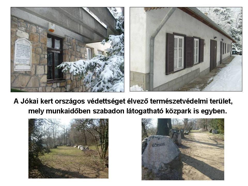 http://www.mme.hu/magunkrol/bemutatkozunk/jokai-kert.html Madártani Egyesület http://dinp.nemzetipark.gov.hu/