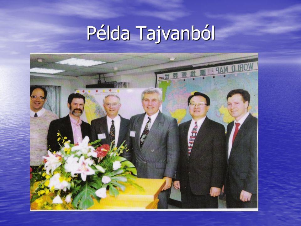 Példa Tajvanból