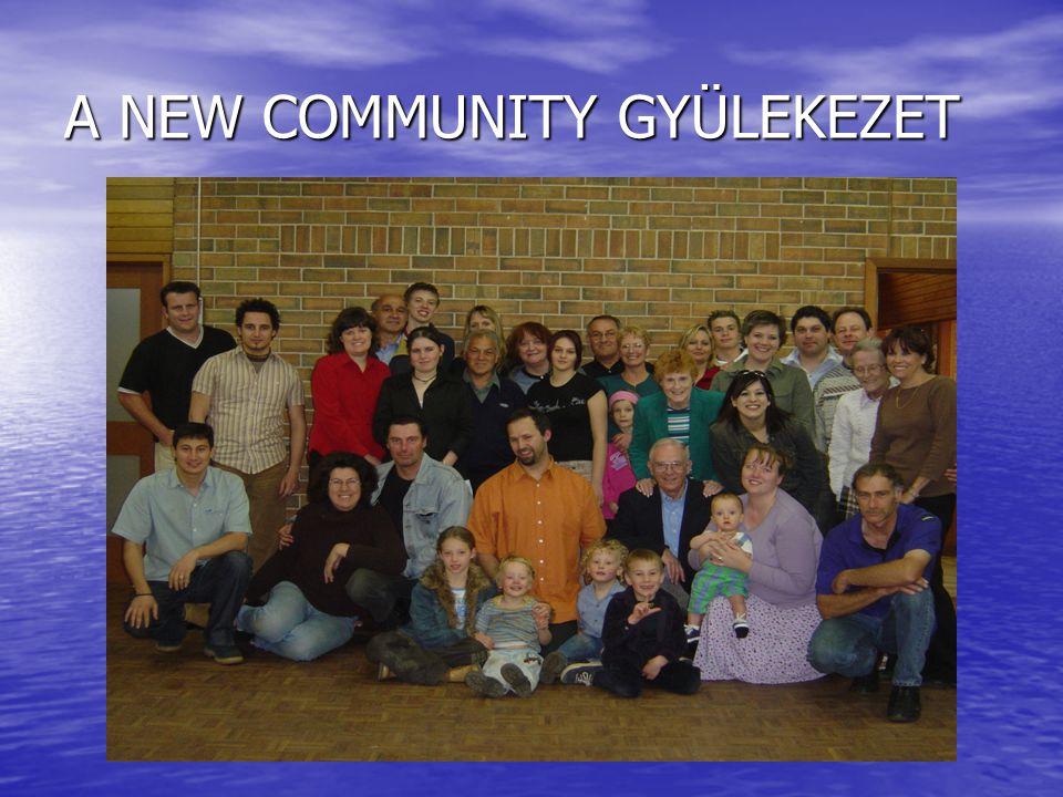 A NEW COMMUNITY GYÜLEKEZET