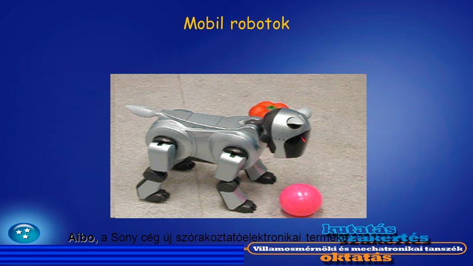 Mobil robotok Aibo, Aibo, a Sony cég új szórakoztatóelektronikai terméke
