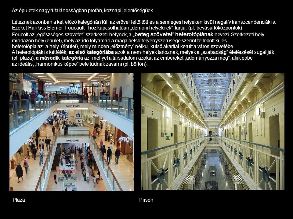 Az épületek nagy általánosságban profán, köznapi jelentőségűek. Léteznek azonban a két előző kategórián túl, az erővel feltöltött és a semleges helyek