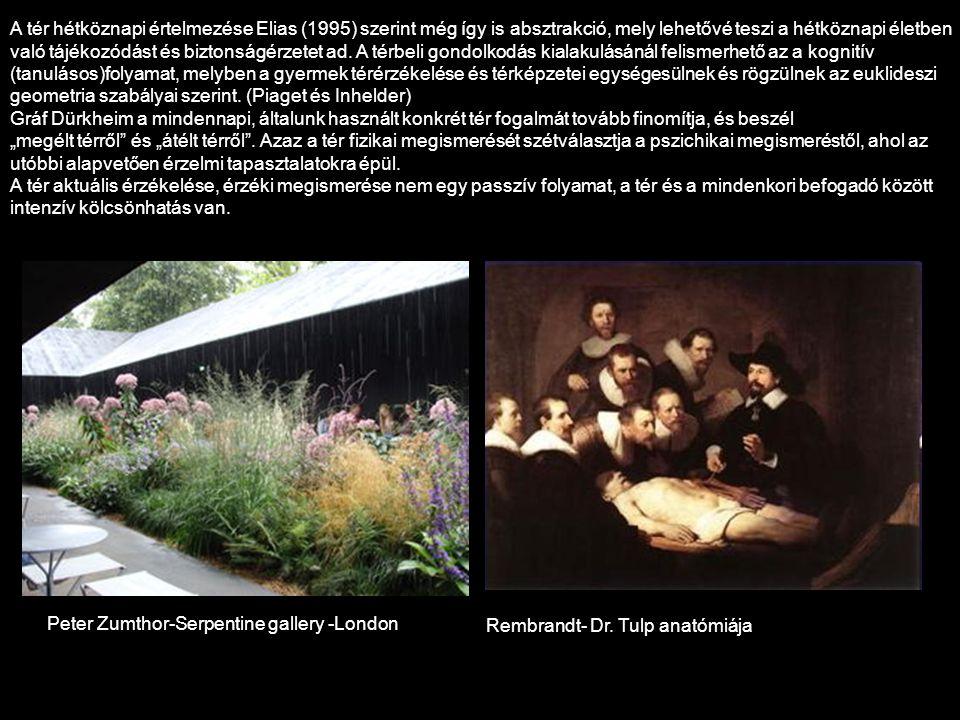 Bourgeois – Zumthor - witch trial memorial Peter Zumthor - Bruder Klaus kápolna Heinz Tesar – Bodemuseum - Berlin