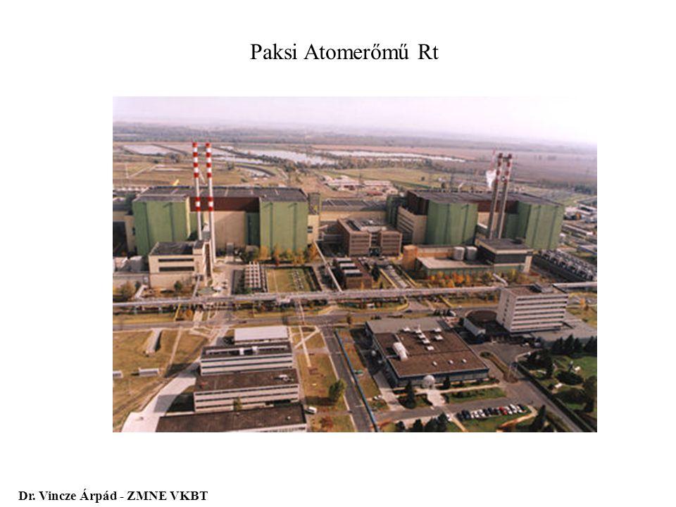 Paksi Atomerőmű Rt Dr. Vincze Árpád - ZMNE VKBT