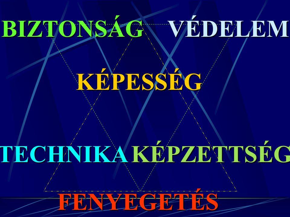 KÉPESSÉG TECHNIKAKÉPZETTSÉG FENYEGETÉS VÉDELEMBIZTONSÁG