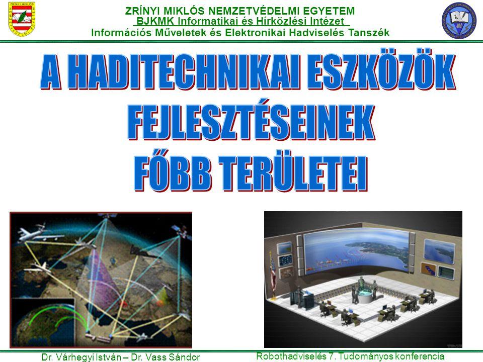 ZRÍNYI MIKLÓS NEMZETVÉDELMI EGYETEM BJKMK Informatikai és Hírközlési Intézet Információs Műveletek és Elektronikai Hadviselés Tanszék Dr.