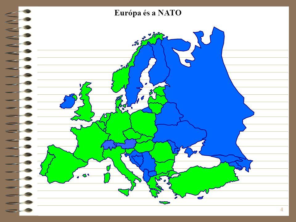 4 Európa és a NATO