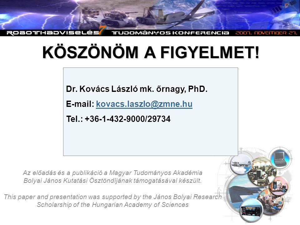 Az előadás és a publikáció a Magyar Tudományos Akadémia Bolyai János Kutatási Ösztöndíjának támogatásával készült. This paper and presentation was sup