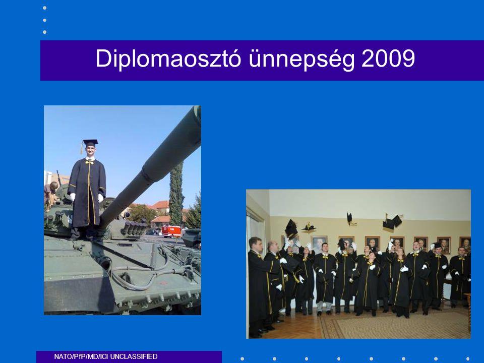 NATO/PfP/MD/ICI UNCLASSIFIED Diplomaosztó ünnepség 2009