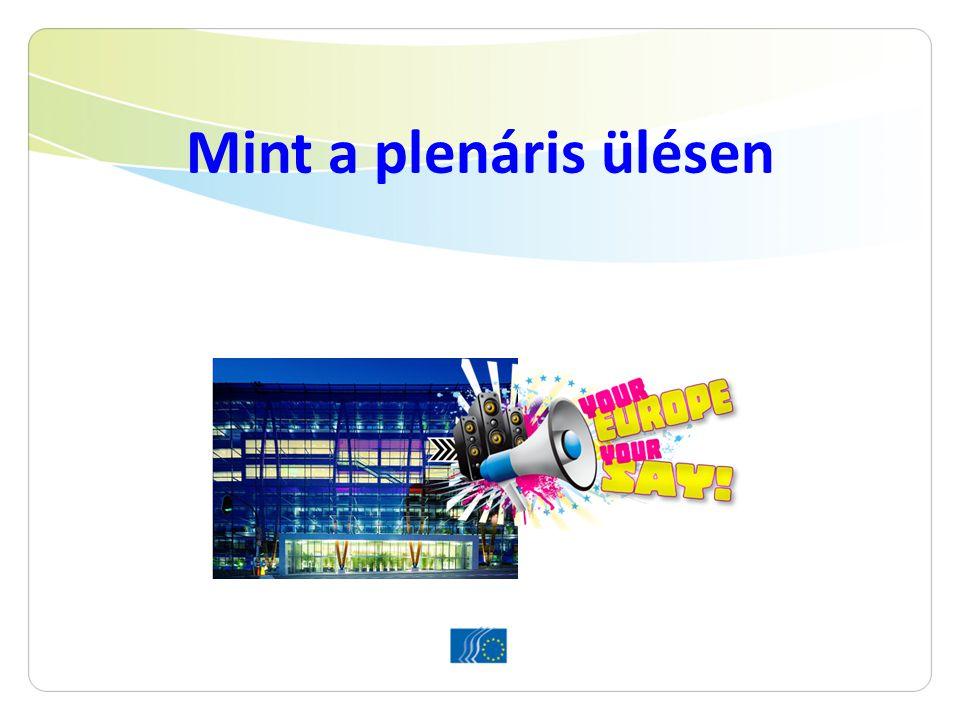 """Az Ön feladata 6 lépésben 1.A vélemény tanulmányozása 2.Módosító indítványok szerkesztése és elküldése 3.Felkészülés a csoportülésre és a plenáris ülésre 4.""""Taggá válni az EGSZB-ben 5.Brüsszel: csoportülések 6.Brüsszel: megvitatás és szavazás a plenáris ülésen"""