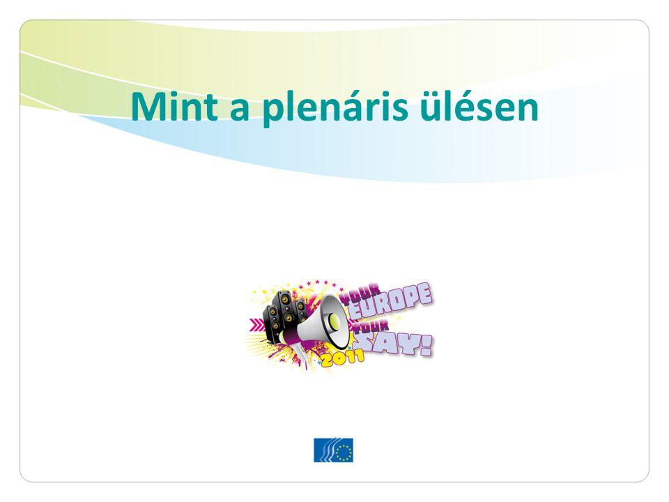"""Az Ön feladata 6 lépésben 1.A vélemény tanulmányozása 2.EGSZB-csoport választása (csoportonként 1 diák), módosító indítványok szerkesztése és elküldése 3.Felkészülés a csoportülésre és a plenáris ülésre 4.""""Taggá válni az EGSZB-ben 5.Brüsszel: csoportülések 6.Brüsszel: megvitatás és szavazás a plenáris ülésen"""