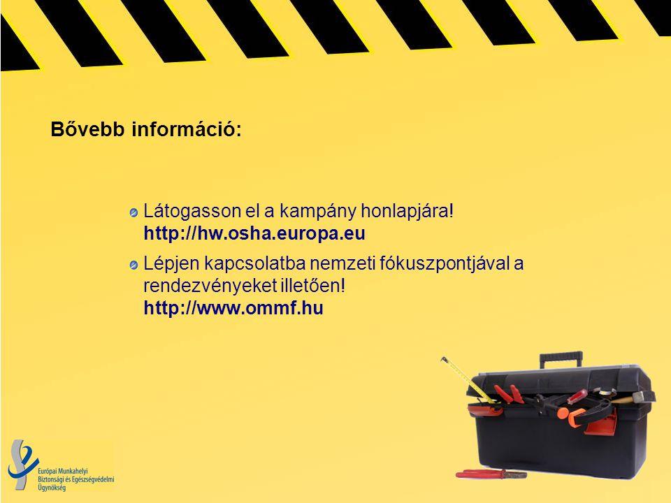 Bővebb információ: Látogasson el a kampány honlapjára.