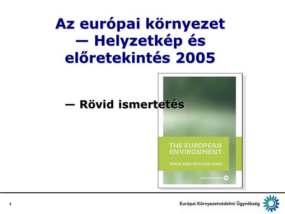 1 Az európai környezet — Helyzetkép és előretekintés 2005 — Rövid ismertetés