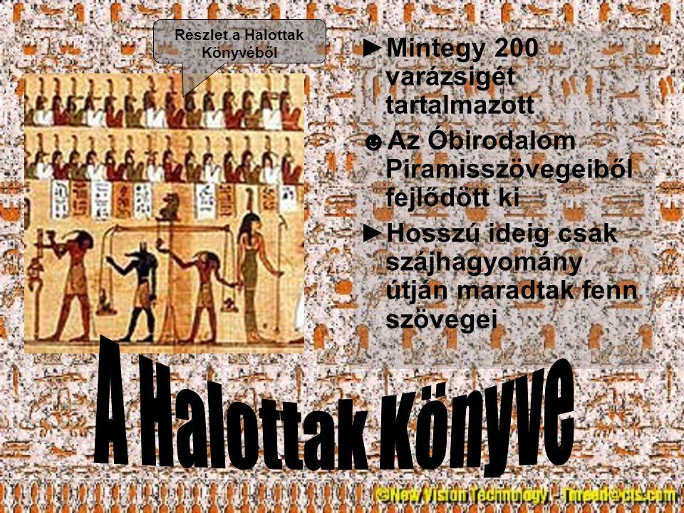 ►Két fontos oka: ►Megvédték a múmiát a pusztulástól ►Státusszimbólumként szolgáltak ►Gazdagok ►Több koporsó, gazdagon díszített