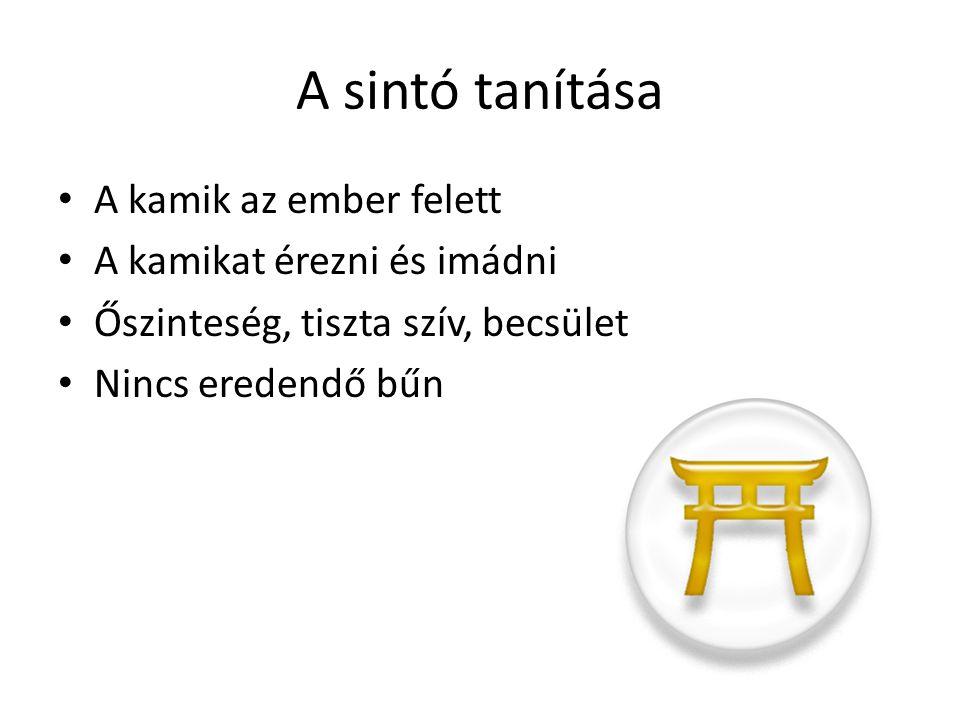 A sintó ünnepek, szertartások Ünnepek: Nov.
