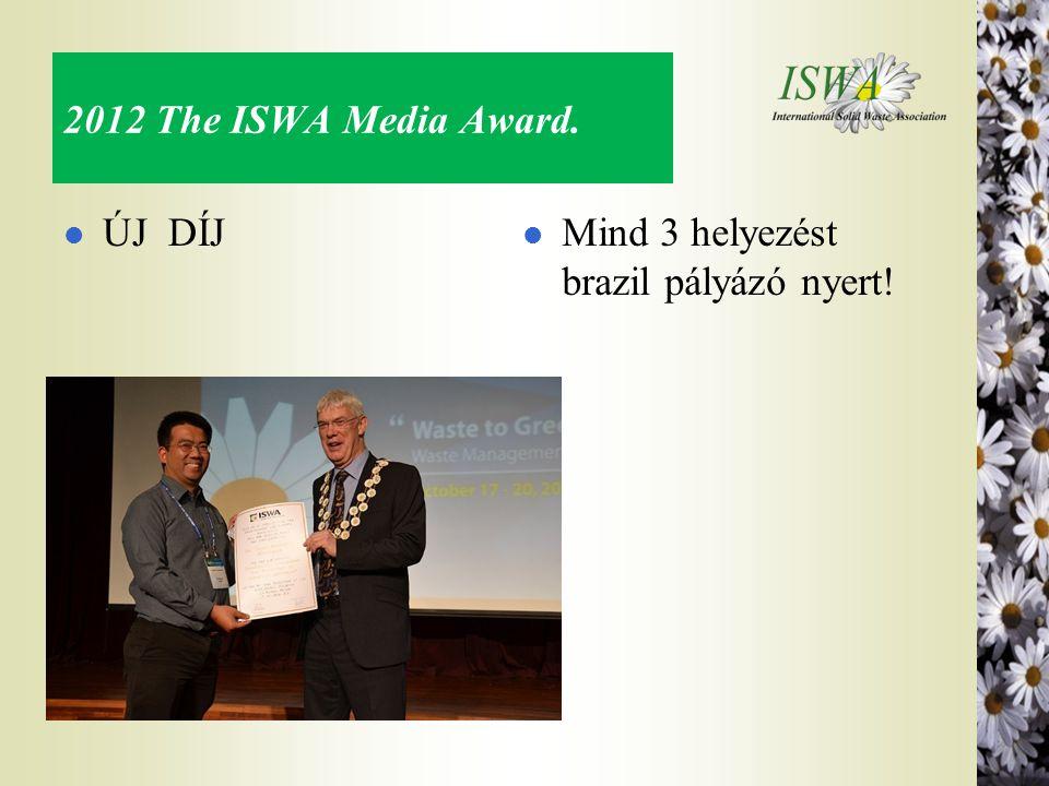 2012 The ISWA Media Award. l ÚJ DÍJ l Mind 3 helyezést brazil pályázó nyert!