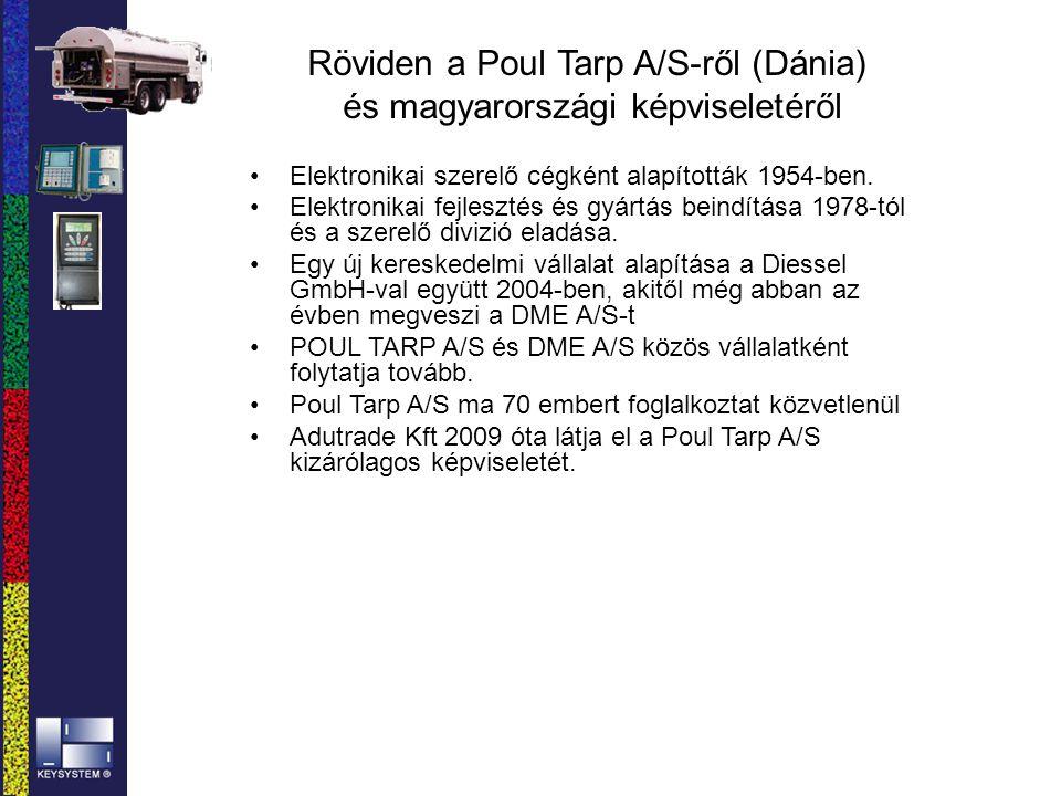 Röviden a Poul Tarp A/S-ről (Dánia) és magyarországi képviseletéről Elektronikai szerelő cégként alapították 1954-ben. Elektronikai fejlesztés és gyár