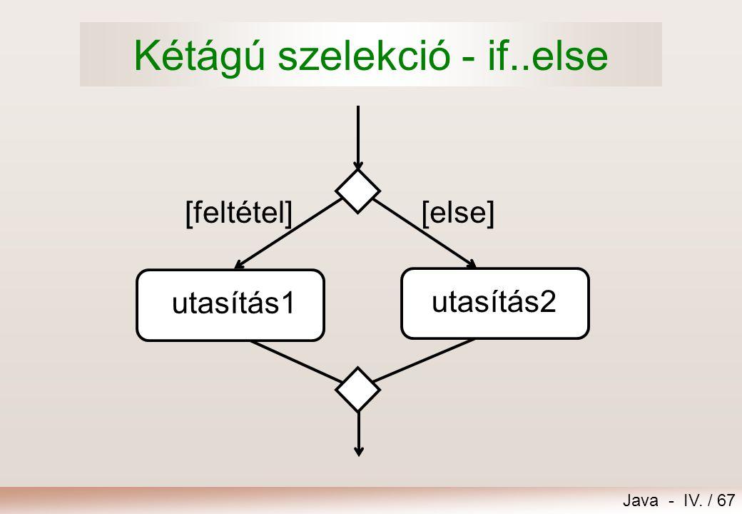 Java - IV. / 66 Feladat – Következő karakter Kérjünk be konzolról egy karaktert! Ha a karakter 'A' és 'Z' közé esik, akkor írjuk ki az unikód táblában