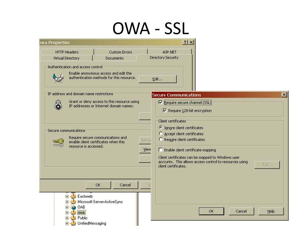 OWA - SSL