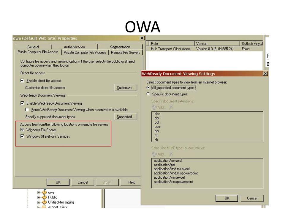 OWA Az OWÁ-hoz kapcsolódó újdonság még az, hogy akár megosztott könyvtárakat is ki tudunk ezen a csatornán publikálni. Mi az a Webready? Ez azt takarj