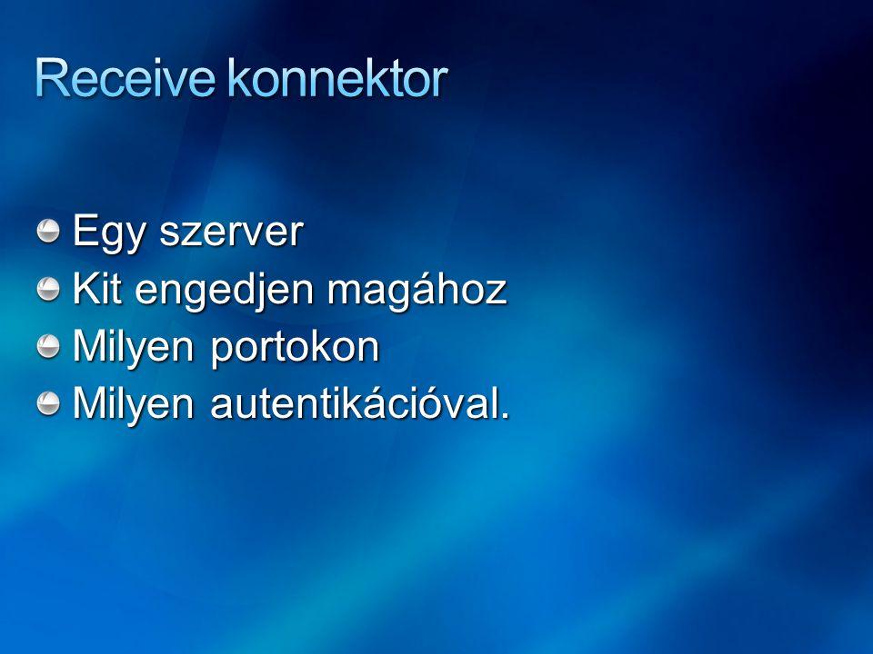 Egy szerver Kit engedjen magához Milyen portokon Milyen autentikációval.