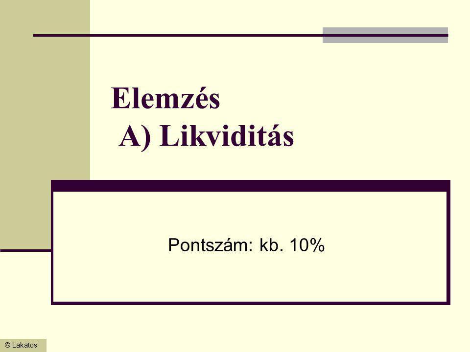 © Lakatos Költségszámlák zárása (8-ra) Feladat: 5-ös számlákról átvezetés (átvezetési számla indokolt) Z4/ Átvezetés költségnemről T8.