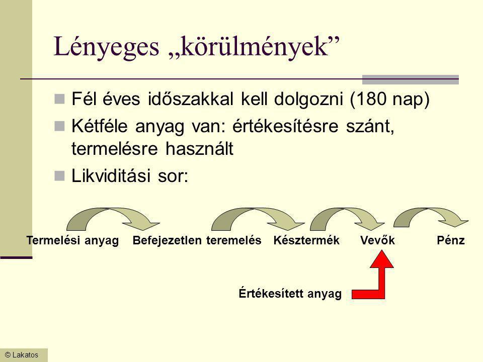 © Lakatos AST és ráfordítás számlák zárása AST  5.