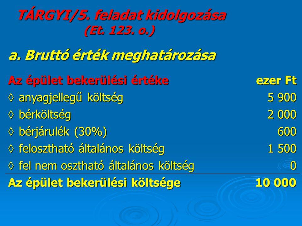 Biztosító térítése T 3.Egyéb követelés-K 9.Egyéb bevételek800 Roncs értékesítése (közvetlenül a káreseményhez kapcsolódva).