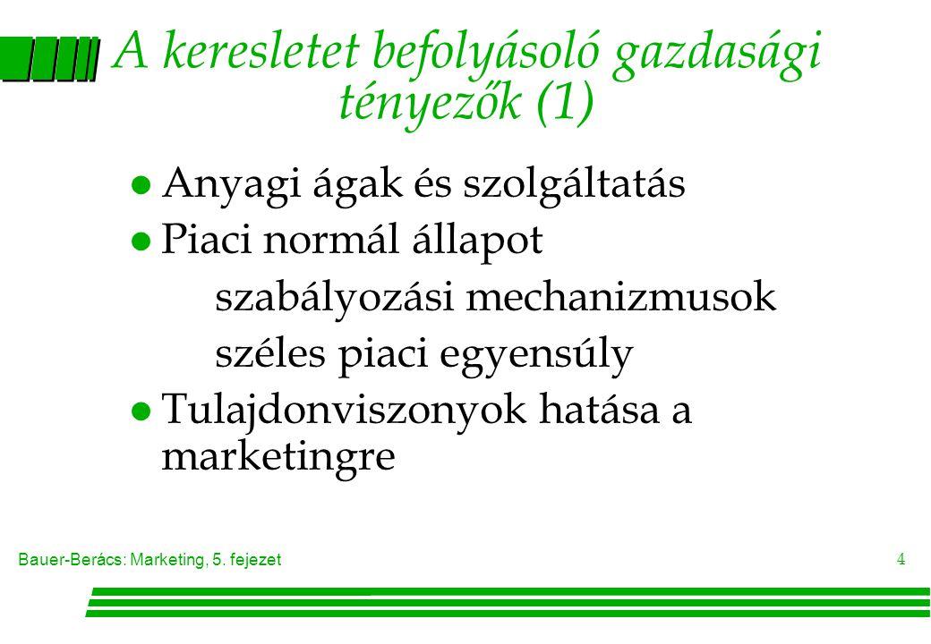 Bauer-Berács: Marketing, 5.