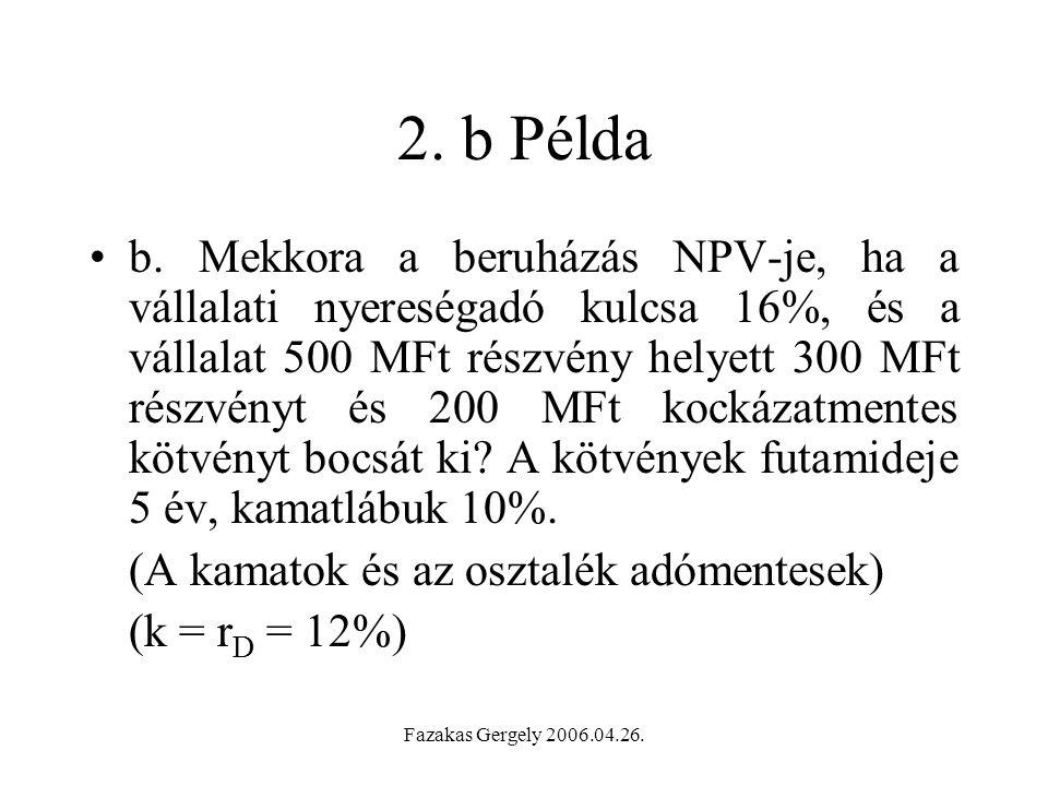 Fazakas Gergely 2006.04.26.2. b Példa b.