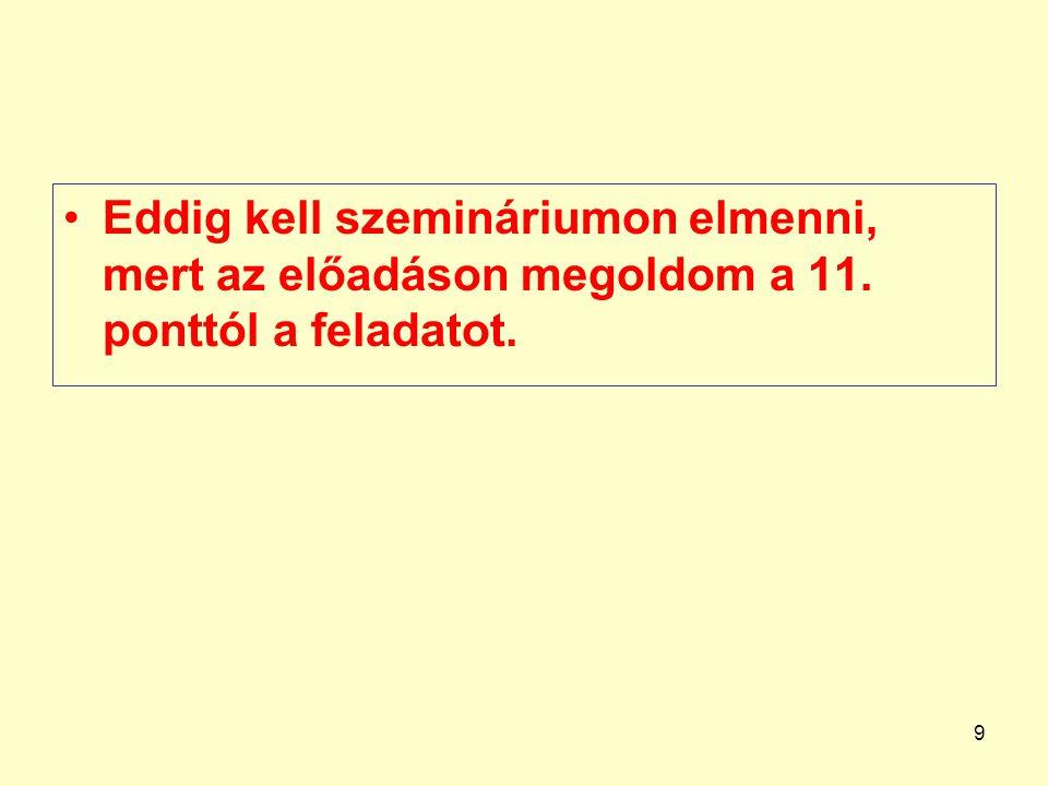 10 Gazd.eseményTartozik szlaKövetel szla eFt eFt 318.