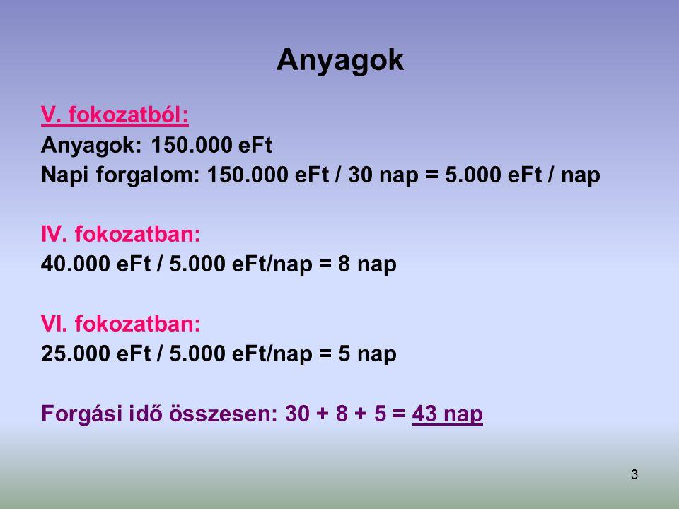 3 Anyagok V.