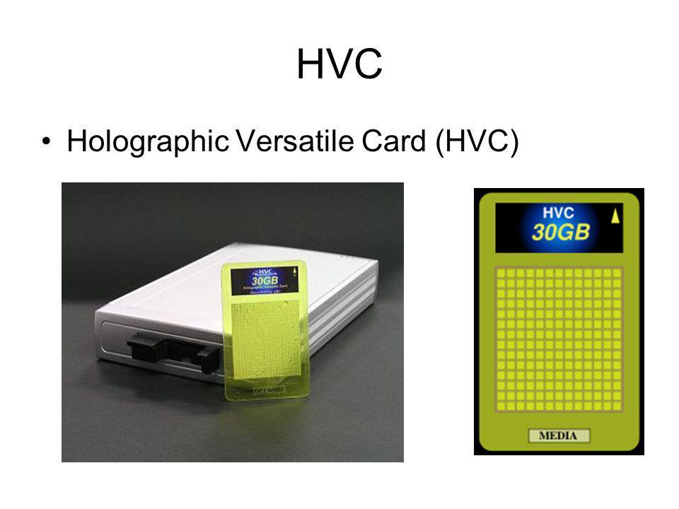 HVC Holographic Versatile Card (HVC)