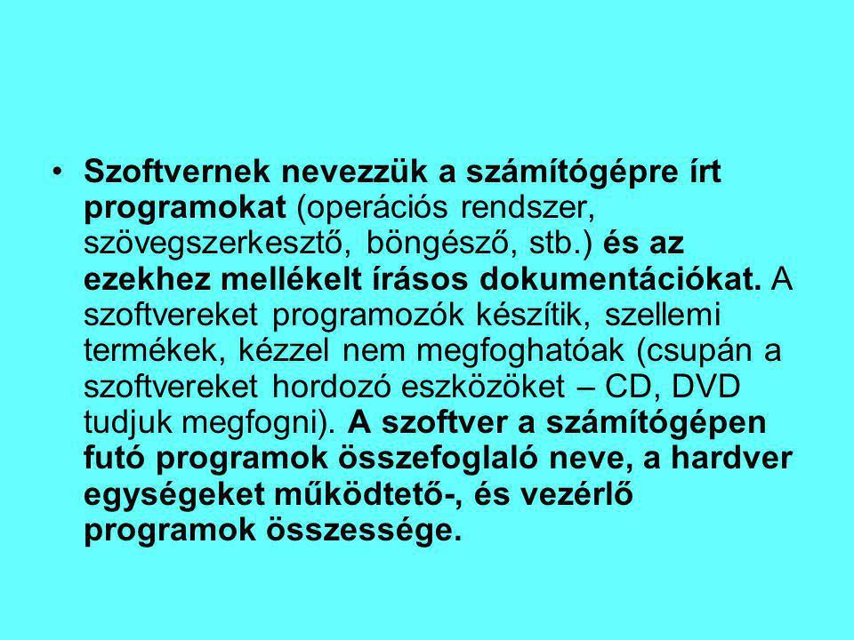 A fenti példához teljesen hasonló módon és ugyanazokkal az elõnyökkel- hátrányokkal mûködnek a compiler-ek vagy magyarul a fordítóprogramok