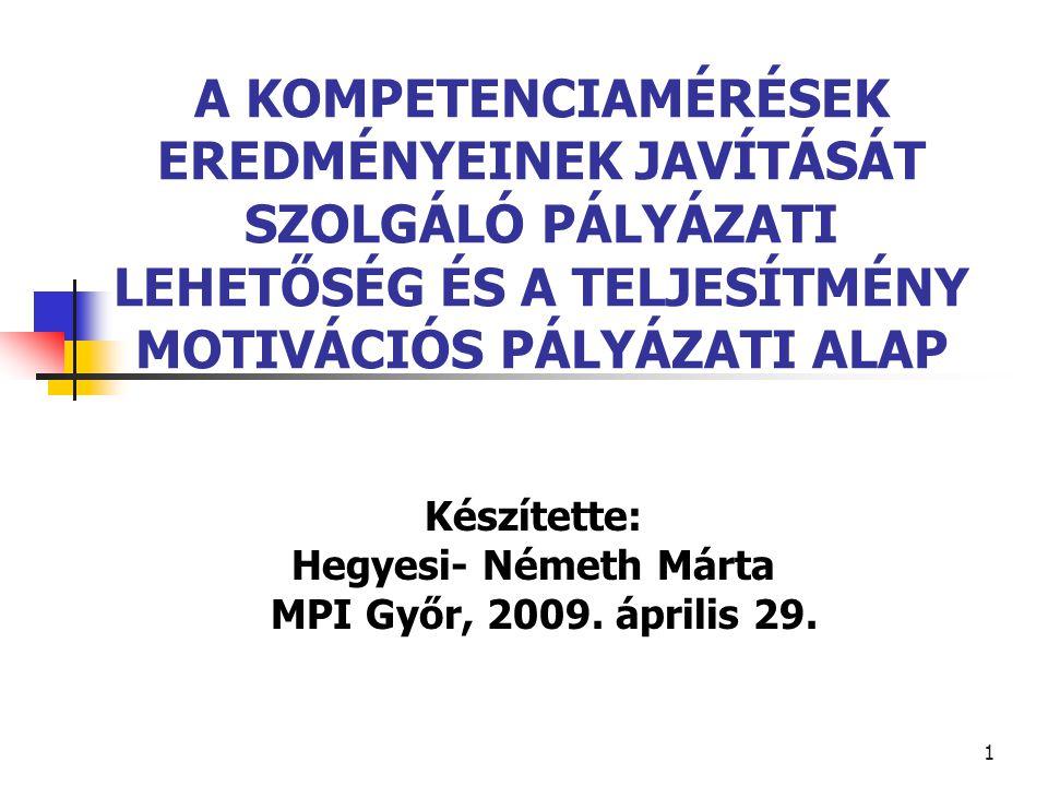 2 VÁZLAT I.Minőségbiztosítás, mérés, értékelés, ellenőrzés támogatása II.