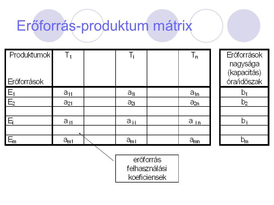 vállalat bevételi függvénye B(Q)=pQ; ahol p = egyensúlyi ár A vállalati profitfüggvény N(Q)=B(Q)-K(Q) A profitmaximum létezésének feltétele, hogy a fenti függvény deriváltja zérus legyen  N/  Q =  B/  Q -  K/  Q = 0 Azaz HB(Q) - HK(Q) = 0; ahol HB(Q) = a határbevételi görbe.