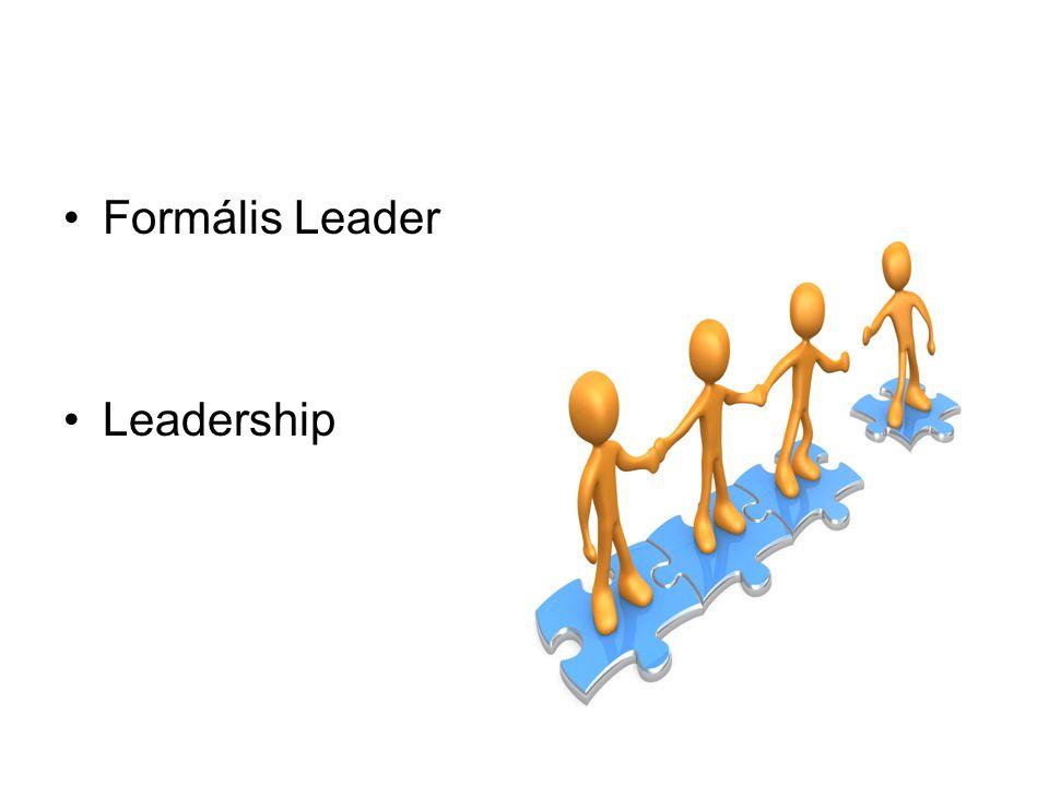 Formális Leader Leadership