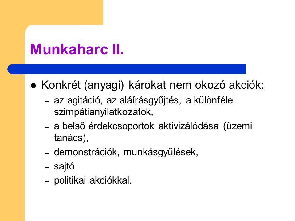 Munkaharc II.
