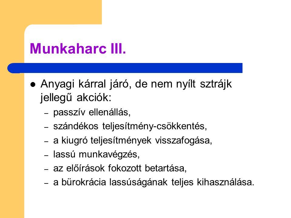Munkaharc III.