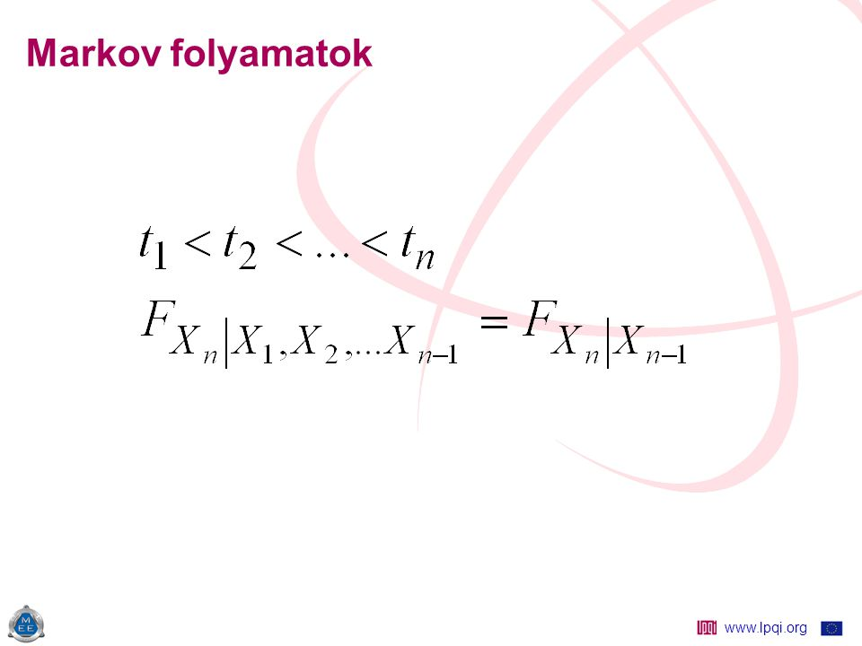 www.lpqi.org Matematikai modell Egyetlen, nem javítható elem jó rossz